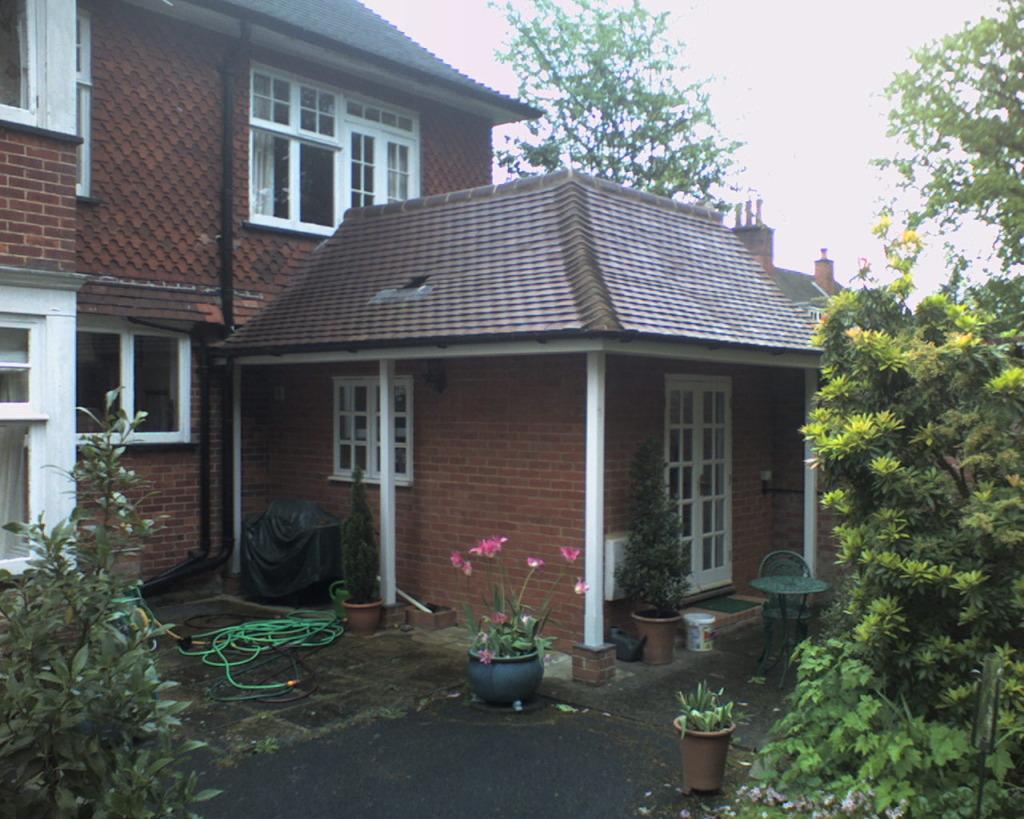 облицовка загородного дома