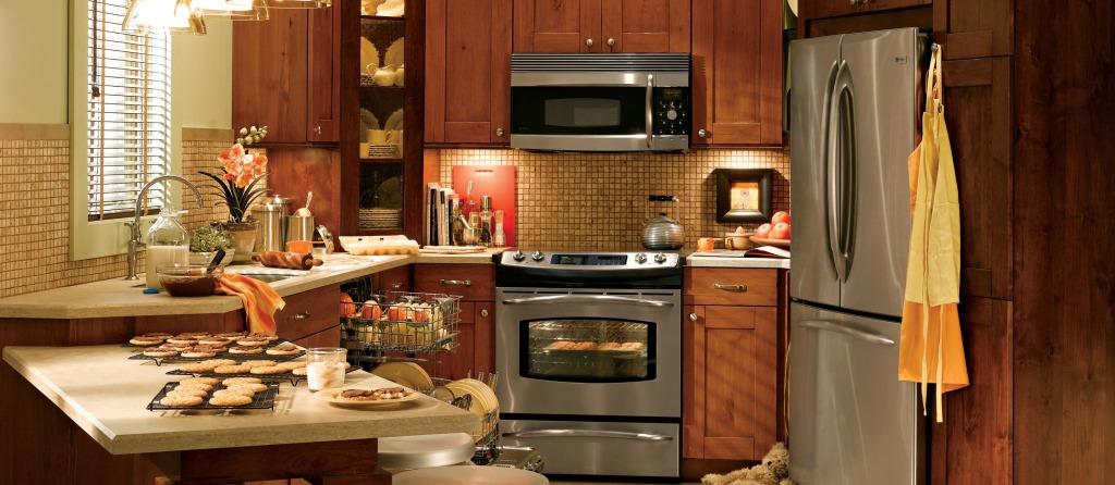 Обустройство интерьера малогабаритной кухни